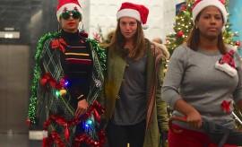 Beyoncé se transforme en sapin de Noël vivant