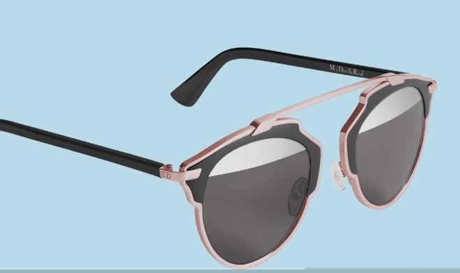 fa519f54bc Les lunettes de soleil personnalisables « Dior So Real » – Lunettes de  soleil