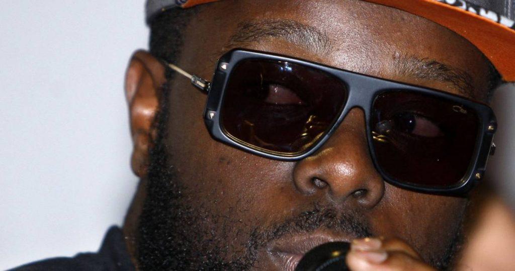 5c5cac14ca4b68 Maître Gims   des lunettes de soleil comme une protection – Lunettes ...
