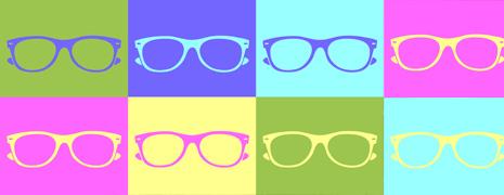 Des lunettes hautes en couleurs