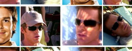 Les lunettes de soleil de Dexter