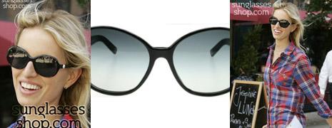 Les lunettes de soleil de Karolina Kurkova