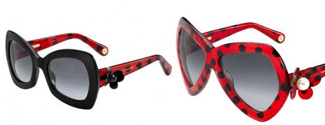 Des nouvelles lunettes de soleil chez Marc Jacobs