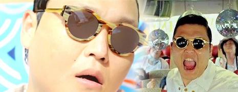 Gangnam Style et les lunettes de soleil