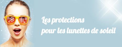 Différentes protections pour les lunettes de soleil