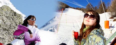 Lunettes de soleil fashion pour la montagne