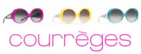 Les premières lunettes de soleil Courrèges