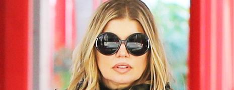 Les lunettes de soleil Lanvin pour la chanteuse Fergie