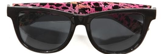 Pimkie et les lunettes de soleil léopard fluo