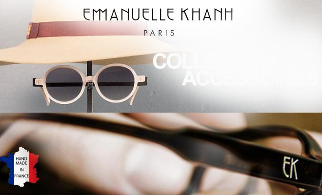 Une touche de chic avec les lunettes de soleil Emmanuelle Khanh