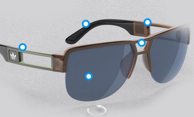 Optez pour des lunettes de soleil personnalisées grâce à Adidas