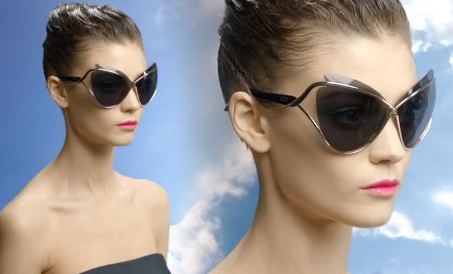 Les lunettes de soleil de Dior vont faire sensation