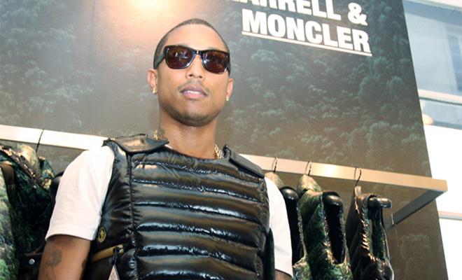 Moncler et Pharrell s'associent
