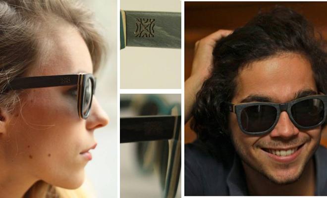 Les lunettes en bois Mëtsa: «il y a du design dans la nature»