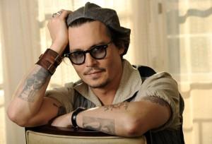 lunettes de soleil fumée Johnny Depp