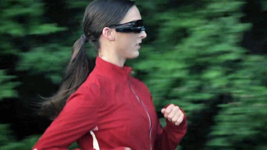 Des lunettes de sport connectées chez Android