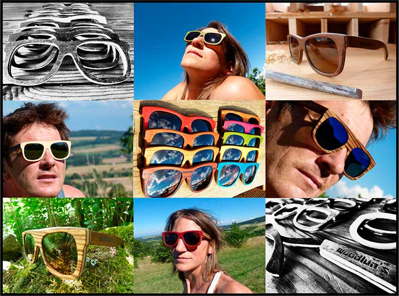 Woodlun's  : Les lunettes en bois Ardéchoises