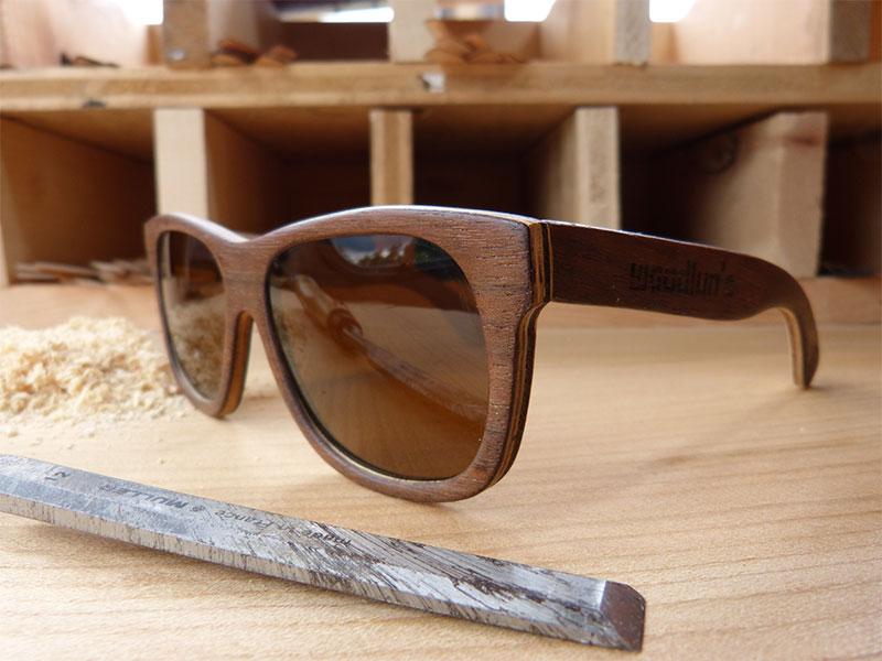 lunettes bois Woodlun