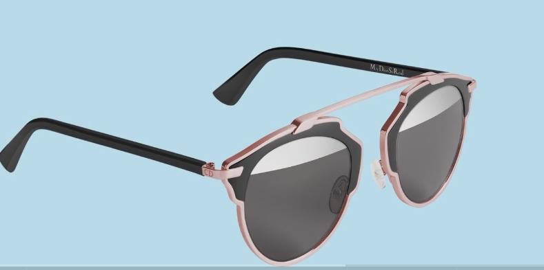 """Les lunettes de soleil personnalisables """"Dior So Real"""""""